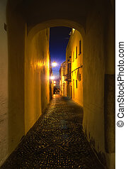 Casco Antiguo - Street of the Casco Antiguo, Arcos de la...