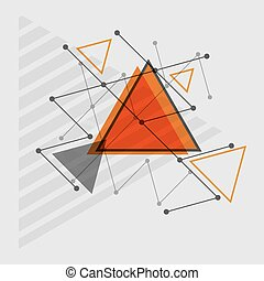 Abstract rapid triangular design