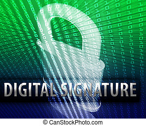 Online security - Online computer security digital signature...