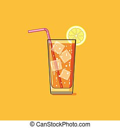 Ice Tea - Iced tea illustration