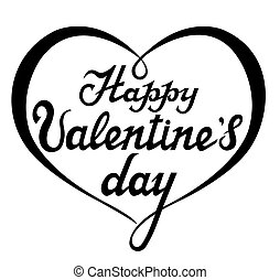 Happy Valentines Day - Happy Valentine's Day Card with...