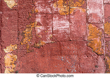 old concrete wall background - fragment of a concrete wall,...