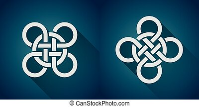 celtic symbol - Set of celtic symbol, logo icon design...