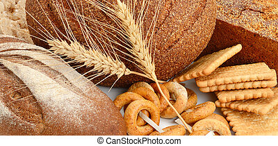 Set bread and bakery products