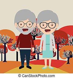 happy grandparents design