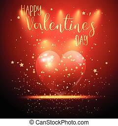 Valentine's Day heart background 0501