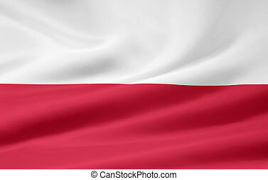 Flag of Poland - Large version of the flag of Poland
