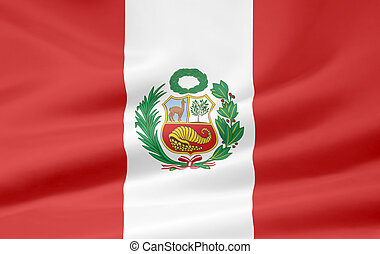 Flag of Peru - Very large version of the flag of Peru