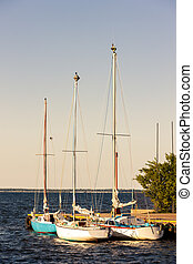 port in Puck, Pomerania, Poland