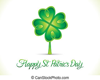 abstract st patrick day background - abstract artistic st...