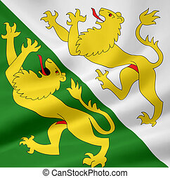 Flag of Thurgau - Switzerland