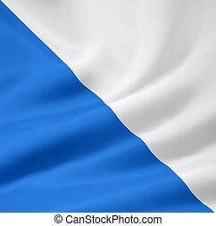 Flag of Zürich - Switzerland
