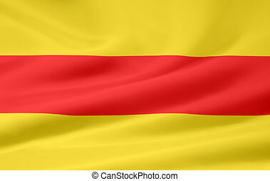 Flag of Baden - Germany - High resolution flag of the old...