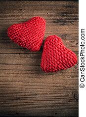 conceito, Dia, cartão,  valentines