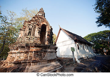 The Chedi of Wat Chet Yot temple - Animisa Chedi in Wat Chet...