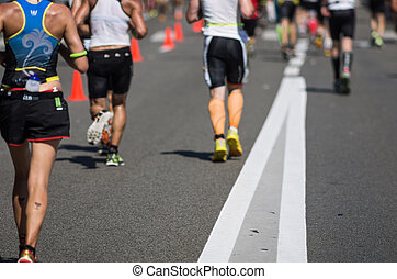Ironman 2013 edition,Nice,France - Photo of a marathon...