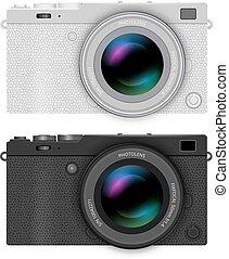 Mirrorless compact camera