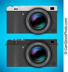 Mirrorless compact camera - Mirrorless digital photo...