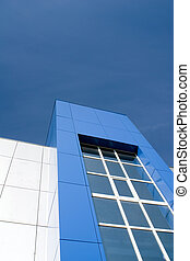 Office building facade - Morden office building facade...