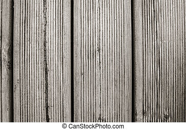 Old decking, close-up background