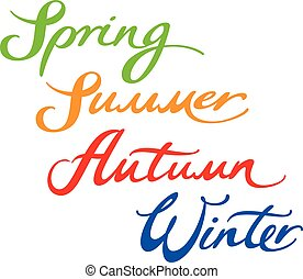 Spring Summer Autumn Winter