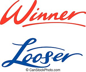 Winner Looser - Winner and Looser words