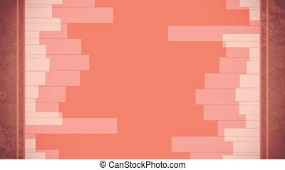 Geometrical lines random animation - Geometrical horizontal...