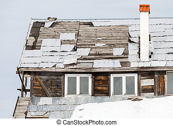 Rundown house - Close up photo of a rundown house
