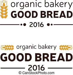 organic bakery good bread