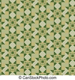 geometric pattern in khaki - verdant seamless geometric...