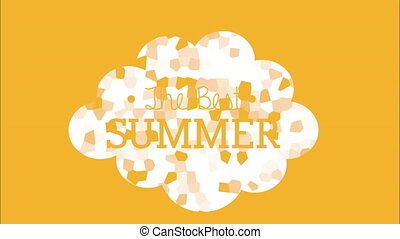 The best summer design, Video Animation HD1080