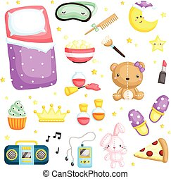 Pajamas Party Items