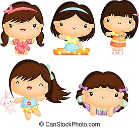 Girls in Pajamas