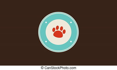 pet icon design, Video Animation HD1080