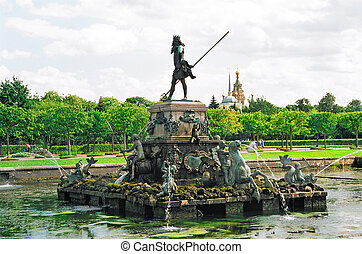 Fountain Neptune - Peterhof Fountain Neptune
