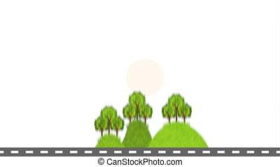 Food icon design, Video Animation HD1080