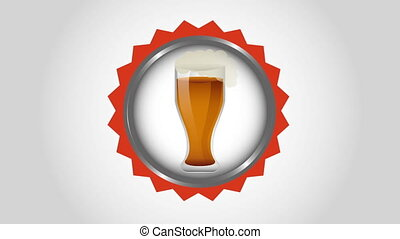 cold beer design, Video Animation HD1080