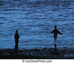boys fish