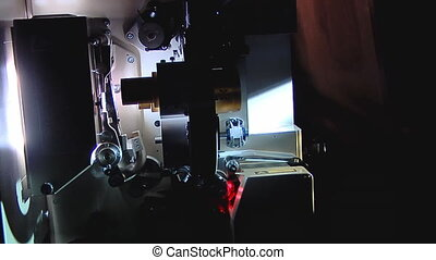 Modern projection booth