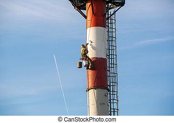 industrial alpinism