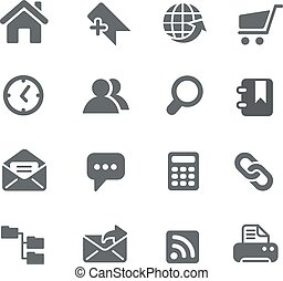 Website Icons - Vector icons for your digital or print...