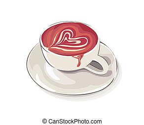 latte cup of love