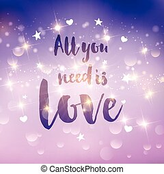all you need is love background 1412 - Decorative Valentines...