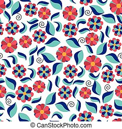 floral seamless pattern for Valentine s day