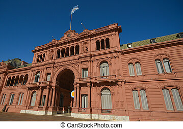Casa Rosada - The Casa Rosada The Pink House, official...