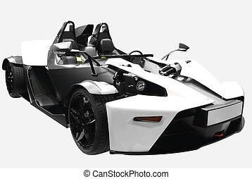fast futuristic car
