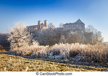 Benedictine abbey in Tyniec, Cracow, Poland