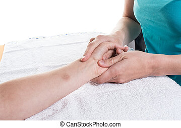 Occupational therapy close-up and different exercises