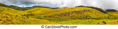 The Horton Plains Panorama - Beautiful view of The Horton...