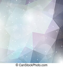 Abstract design background - Abstract background with a low...